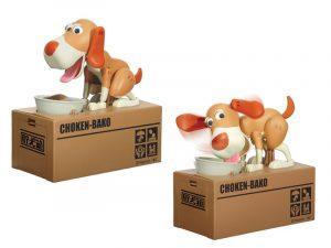 Κουμπαράς Σκυλάκι σε Κουτί με Μηχανισμό, XL0250, Total