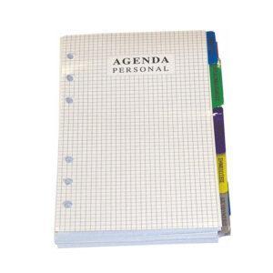 """Ανταλλακτικά  Organizer / Agenda, 5"""" , (Μικρά)"""