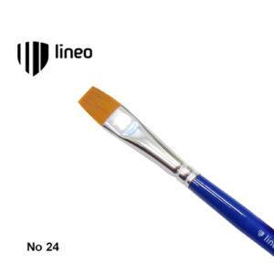 Πινέλο Πλακέ, Συνθετικό, Hobby & School, No. 24, Lineo