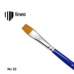 Πινέλο Πλακέ, Συνθετικό, Hobby & School, No. 22, Lineo