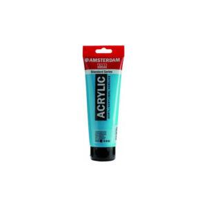 Ακρυλικό Xρώμα,120 ml, 522 Turquoise Blue, Talens