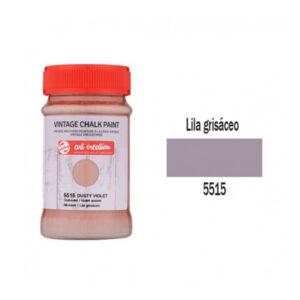 Χρώμα Κιμωλίας, Vintage Chalk Paint, 5515, Dusty Violet, 100ml, Talens