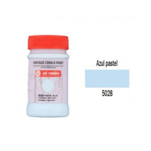 Χρώμα Κιμωλίας, Vintage Chalk Paint, 5028, Pastel Blue, 100ml, Talens