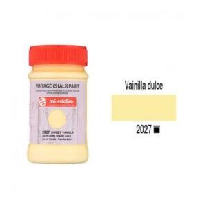 Χρώμα Κιμωλίας, Vintage Chalk Paint, 2027, Sweet Vanilla, 100ml, Talens