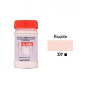 Χρώμα Κιμωλίας, Vintage Chalk Paint, 3504, Pastel Pink, 100ml, Talens