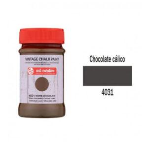Χρώμα Κιμωλίας, Vintage Chalk Paint, 4031, Warm Chocolate, 100ml, Talens