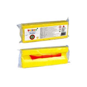 Πλαστελίνη, 550gr, Κίτρινο, CMP, PRIMO