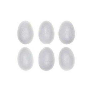 Αυγά Φελιζόλ, Λευκά, 60 mm, 50 τεμ, Exas