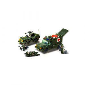 Τουβλάκια,  Army  Medic  & Jeep 229τεμ, Sluban
