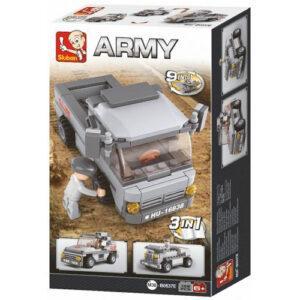 Τουβλάκια  Troop Transporter , 108 τεμ, Sluban