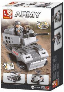 Τουβλάκια, Armoured Vehicle 3-in-1, 110 τεμ, Sluban