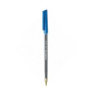 Στυλό, Ballpoint, 430, Medium, Μπλε, Stick, Staedtler